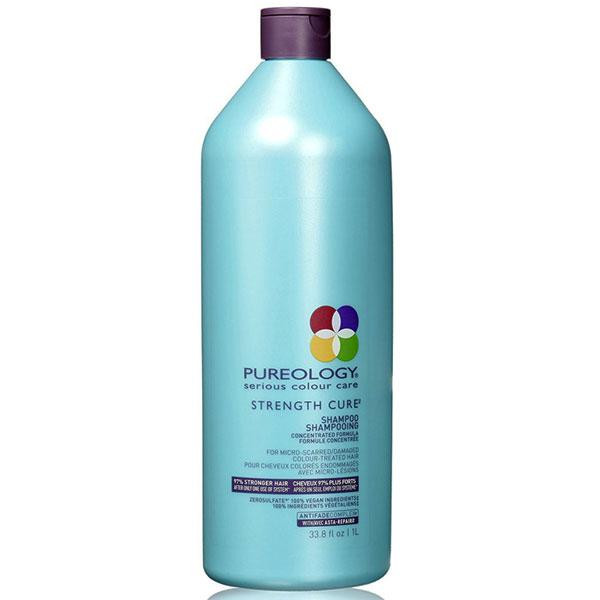 pureology strength cure shampoing 1l produits mat max ca. Black Bedroom Furniture Sets. Home Design Ideas