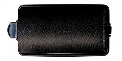 Diane - Rouleaux éponges en satin 1 1/4'' noirs 6/paquet