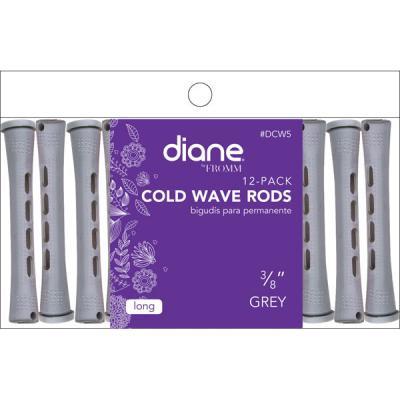 Diane - Bigoudis à permanentes gris 3/8