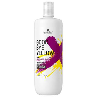 Schwarzkopf - Bonacure - Goodbye Yellow neutralizing wash 33.8oz
