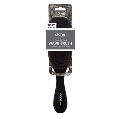 Diane - Brosse Wave 100% sanglier doux 7 rangées 9