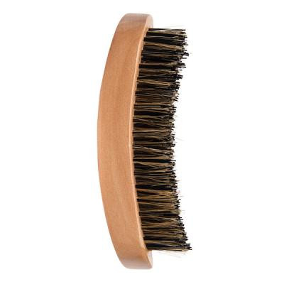 Diane - Military curved 100% Extra-firm boar brush 9 row 5