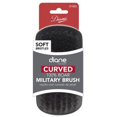Diane - Brosse courbée Military 100% sanglier doux 9 rangée 5